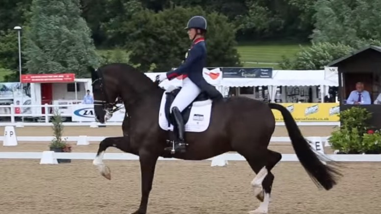 dressage team Hartpury Festival of Dressage Charlotte Dujardin and Valegro