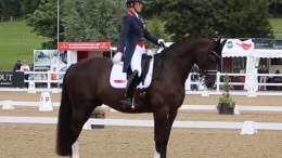 Charlotte Dujardin - image for illustration purposes only