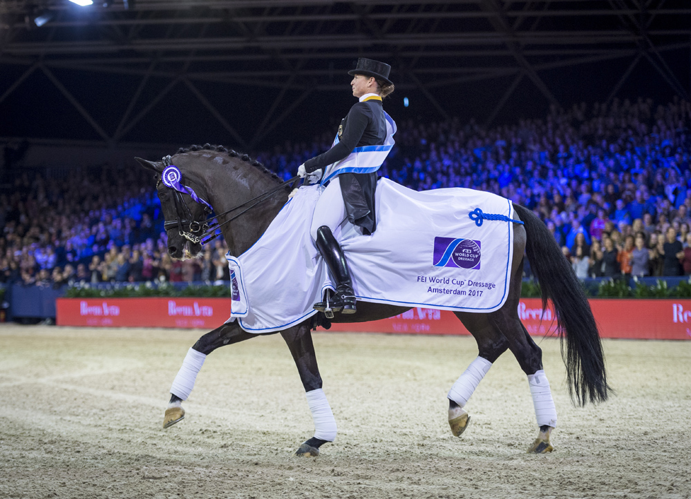 Unstoppable Isabell crowned 2017 best athlete at FEI Awards