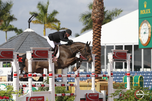 2017 Winter Equestrian Festival - Peter Leone and Wayfarer. Photos © Sportfot
