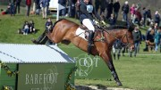 Danielle Dunn and Grandslam finishing 14th at Burnham Market CIC3* Photo credit Lorraine Porter Photography -