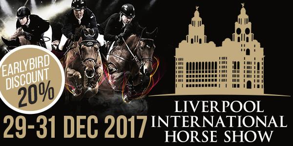 Liverpool International Horse Show 2017 Early Bird Offer 20% Off