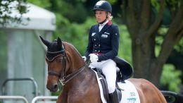 Event Rider Masters, Leg 2 - Ingrid Klimke riding SAP Escada FRH