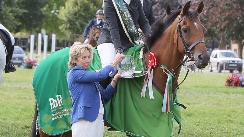 British Showjumping National Championships - ROR Champion Rachel Dorrell