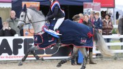 A hat-trick for Lauren Roach as she takes the Pony British Novice Championship for the third year in a row