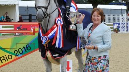 Class 8C British Showjumping National Champion 2017 Annabel Shields with Wet Wet Wet