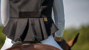 NEW Emma Brown Tweed Dressage Waistcoat