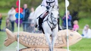 Eventridermasters.tv / Ben Clarke. Gemma Tattersall riding Quick Look V en-route to winning Leg 1 of the 2017 Event Rider Masters.