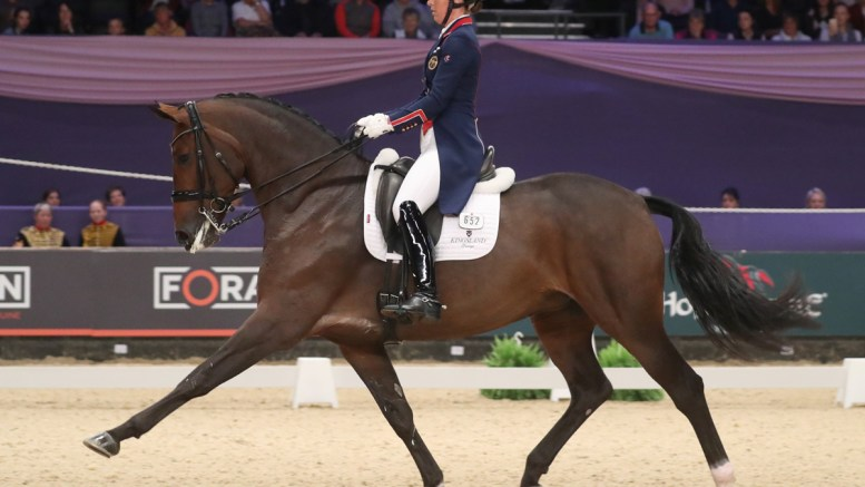 Dressage Future Elite Championship - Charlotte Dujardin and Mount St John Freestyle