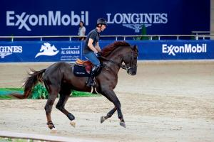 Photo: Harrie Smolders and Don VHP Z turn up the heat at AL SHAQAB GCL / Stefano Grasso
