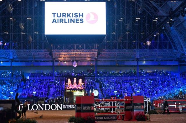 The London International Horse Show, Olympia - View of main arena ©Kit Houghton