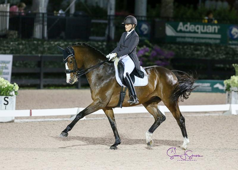 Ashley Holzer Posts New Personal Best on Promising Mare