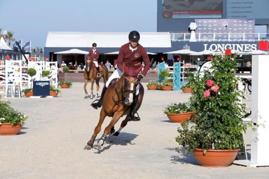 Shanghai Swans' Daniel Deusser and Pedro Veniss soared to a second pole position of the season after a challenging GCL first round tested the world's best on the French Riviera. Photo: GCL / Stefano Grasso