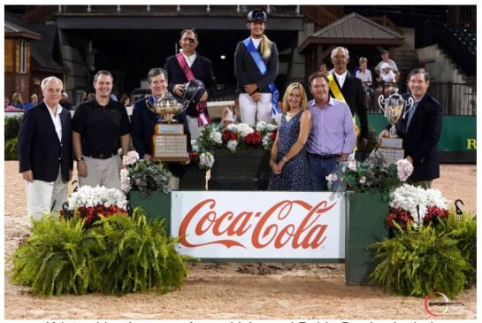 Sweet Taste of Victory for Kristen Vanderveen and Bull Run's Faustino De Tili in $204,000 Coca-Cola® Grand Prix CSI 4* for the Governor's Cup