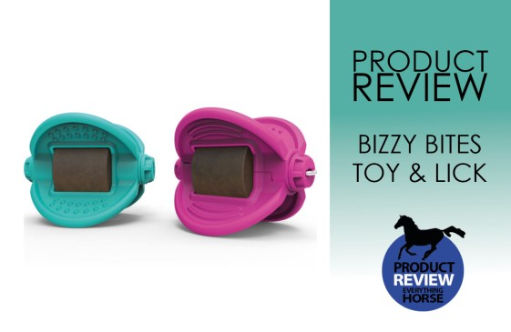 BIZZY BITES toy and lick review