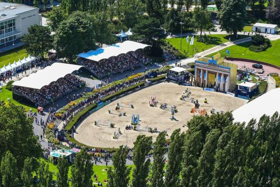 LGCT of Berlin - A view of the venue