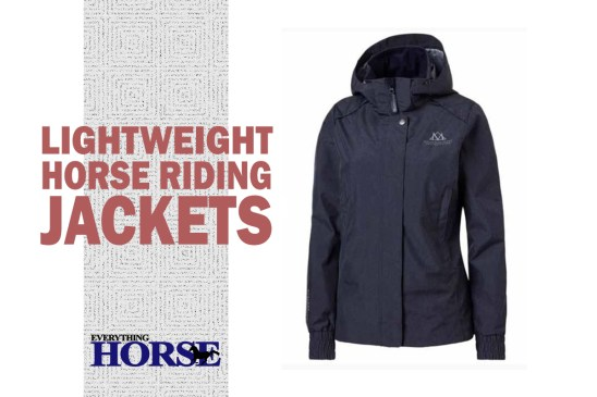 lightweight horse riding jackets