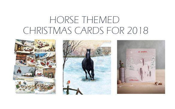 horse themed christmas cards 2018
