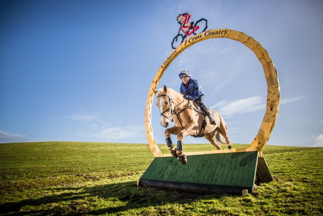 Lindores Equestrian Cross Country - Louisa Milne Home on Future Plans