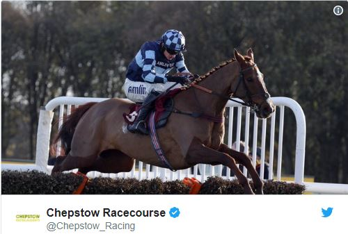 the grand national. Twitter Chepstow