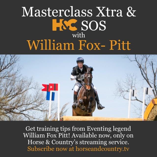 William Fox-Pitt Masterclass