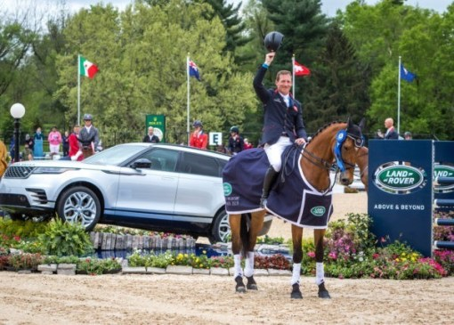 Oliver Townend (GBR) and Cooley Master Class the winners of the 2019 Land Rover Kentucky Three-Day Event presented by MARS EQUESTRIAN in Lexington, Kentucky.
