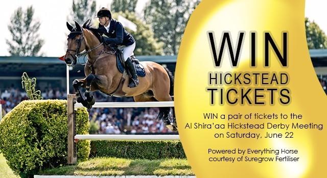 win hickstead tickets