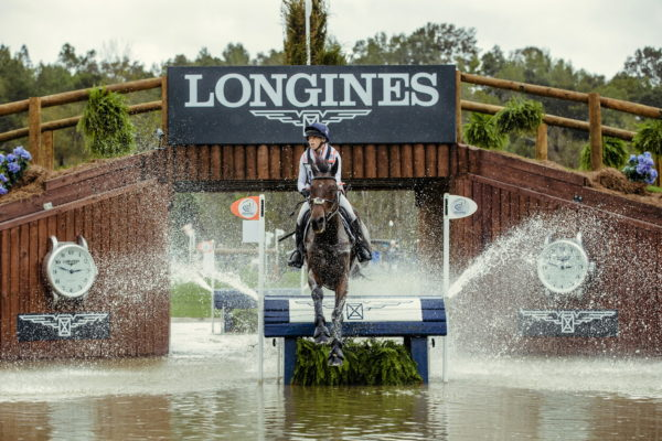 Ros Canter (GBR) riding Allstar B secured double gold at the FEI World Equestrian Games™ Tryon 2018 has claimed the number one spot in the FEI World Eventing Rankings. (FEI/Christophe Taniere)