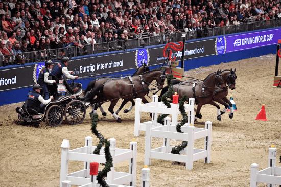 Boyd Exell, Olympia London International Horse Show