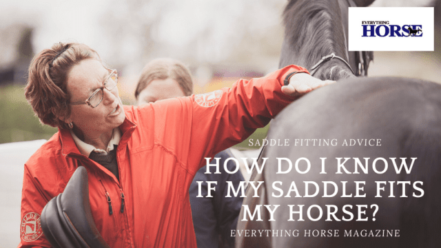 How do I know if my saddle fits my horse?