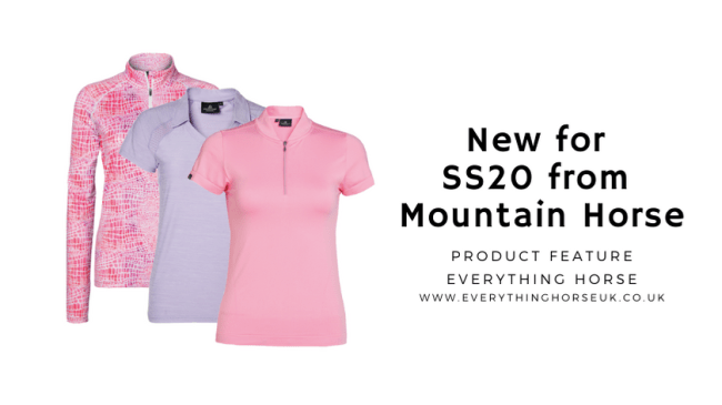 New for SS20 from Mountain Horse