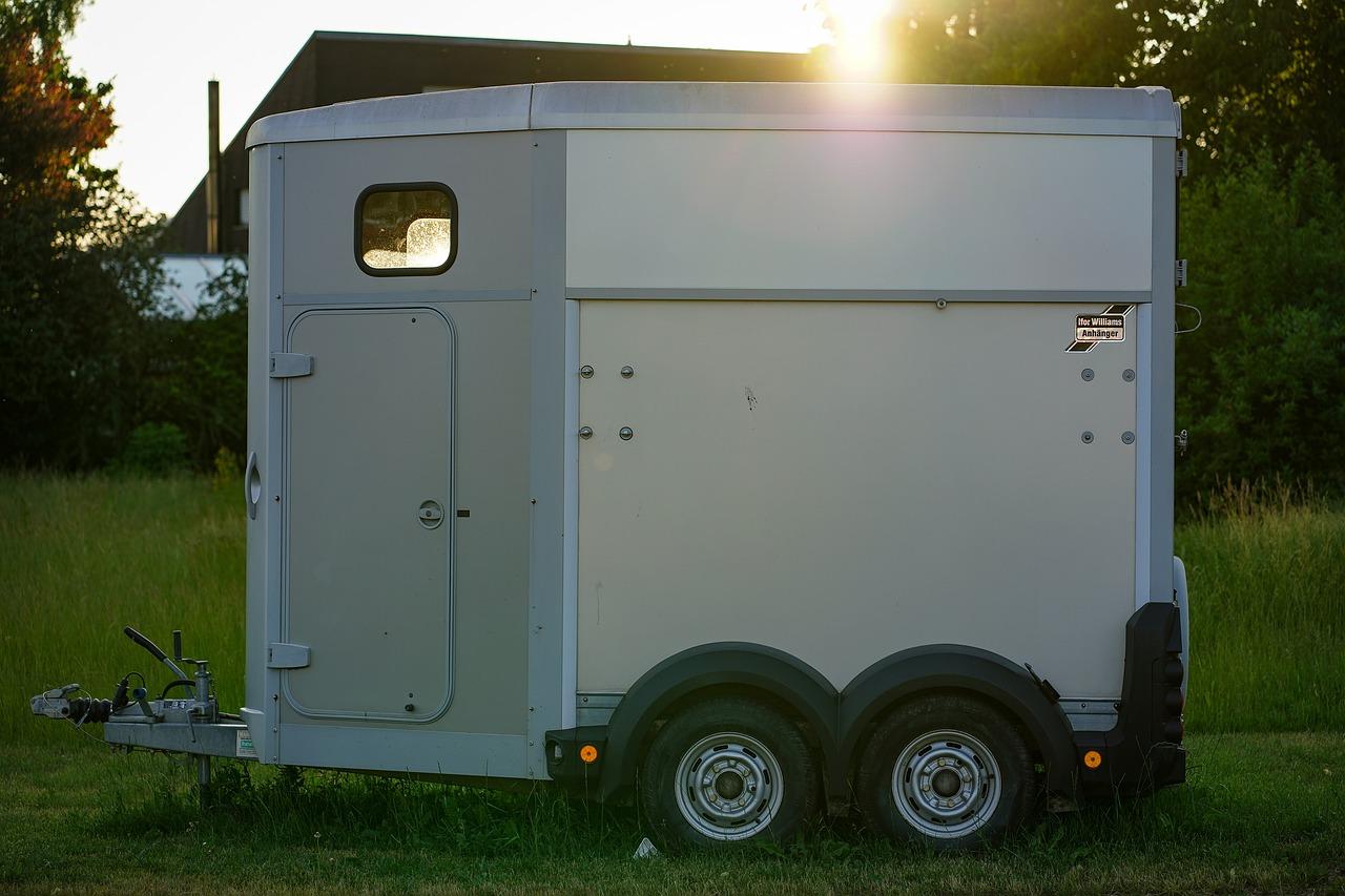 Equine Digital Passport Solution Proposed for Safer European Travel image of horse trailer