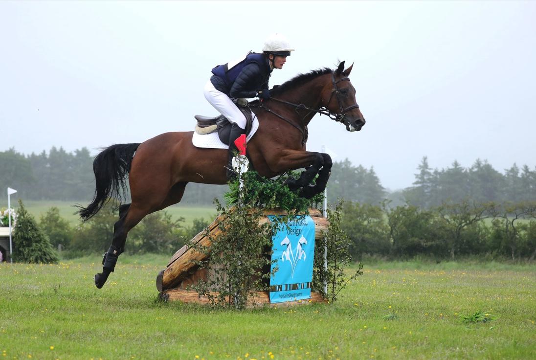 Willa Newton riding Light The Fuse, Alnwick Ford International Horse Trials. Image credit Lottie Elizabeth Photography.