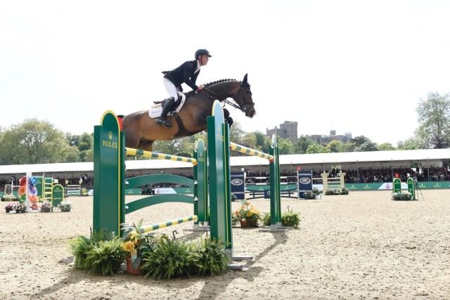ROLEX TESTIMONEE SCOTT BRASH AT CHI ROYAL WINDSOR HORSE SHOW 2018