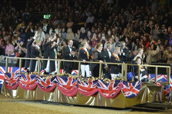 Team GB Olympic Team to be paraded at London Olympia Horse Show