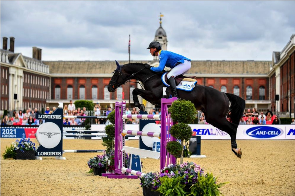 Christian Ahlmann and Solid Gold Z LGCT London Finale
