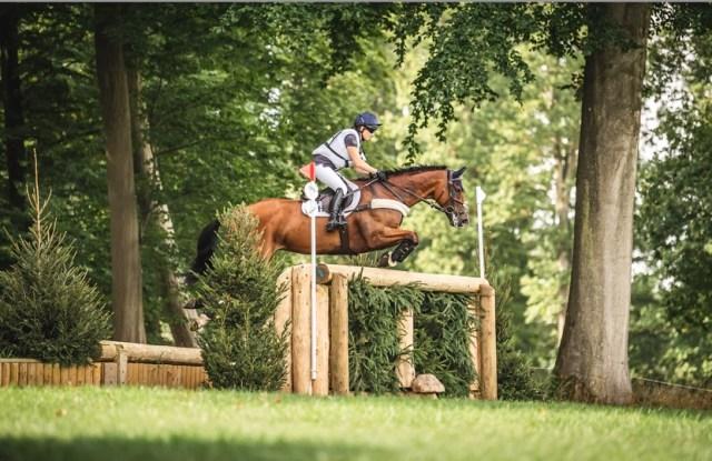 Laura Collett on Mr Bass at Cornbury House Horse Trials 2021