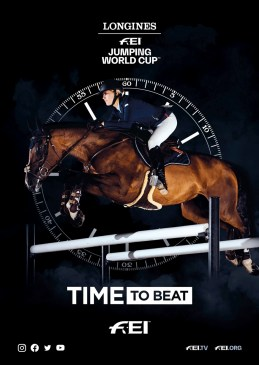 FEI Longines Time to Beat Campaign image