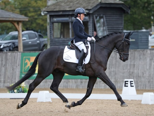 Kerry Mackin and Milano 111 winners of the NEXGEN four-year-old championship