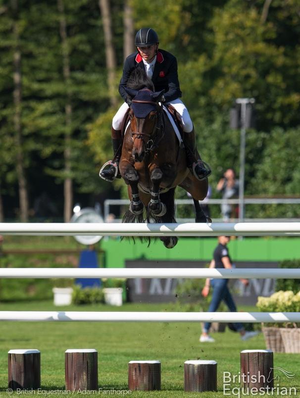 Joe Stockdale andEquine America Cacharel. Image credit British Equestrian / Adam Fanthorpe