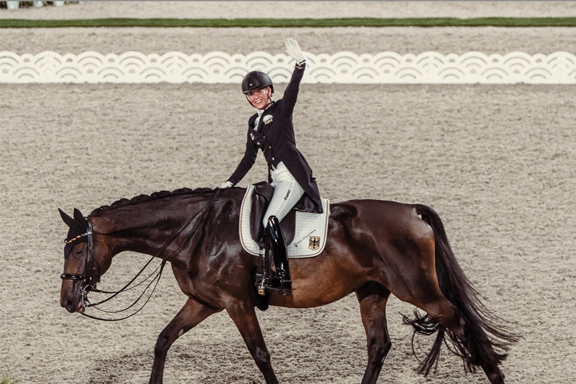 FEI Dressage European Championships 2021 Image - Newly-crowned Olympic champions, Germany's Jessica von Bredow-Werndl and TSF Dalera BB, will be the centre of attention at the FEI Dressage European Championships 2021 in Hagen, Germany next week. (FEI/Christophe Taniere)