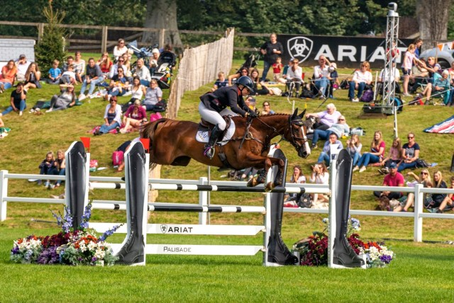 Chedington Equestrian Bicton Park 5* - Gemma Tattersall and Chilli Knight