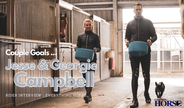 Jesse and Georgie campbell interview Everything Horse
