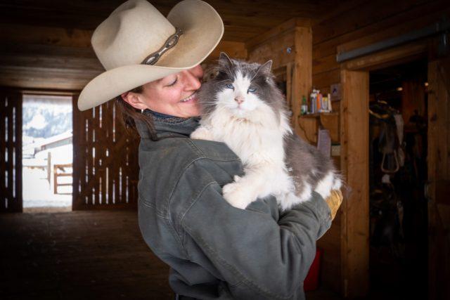 Steph Kuenast, head wrangler at Vista Verde ranch