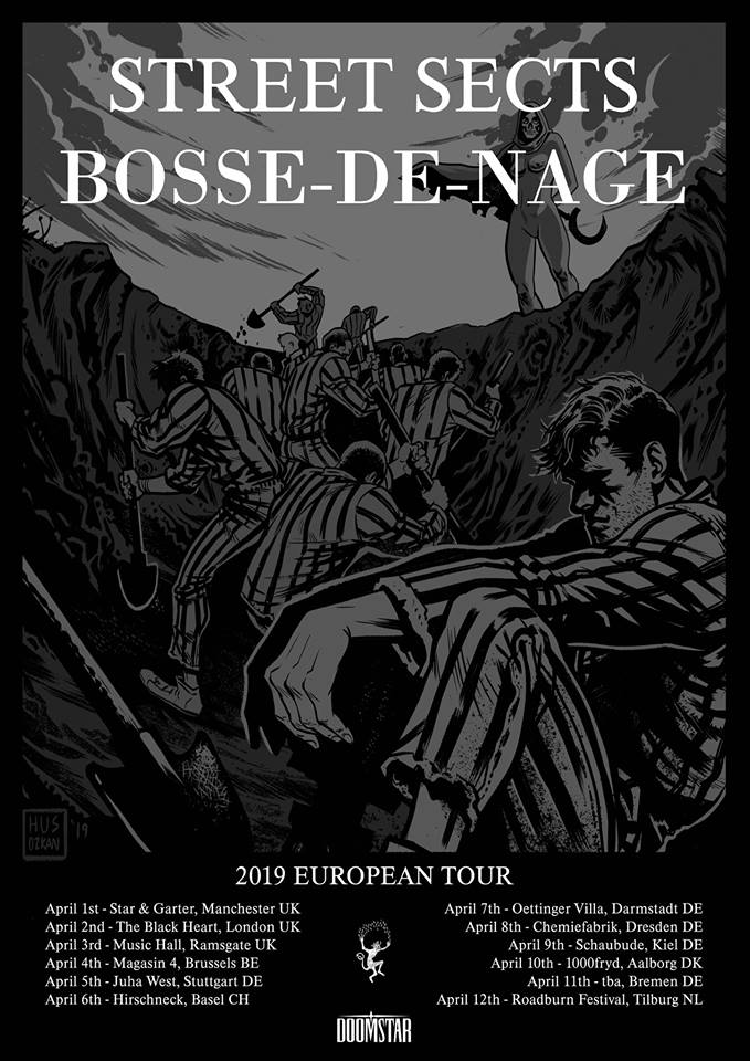 Street Sects/Bosse-de-Nage Tour Poster