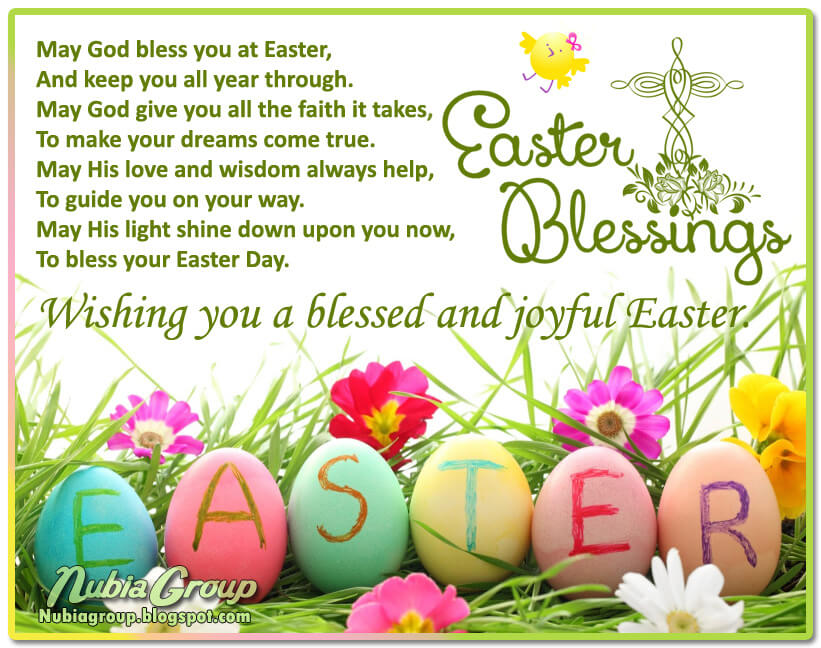 Happy Easter Blessings