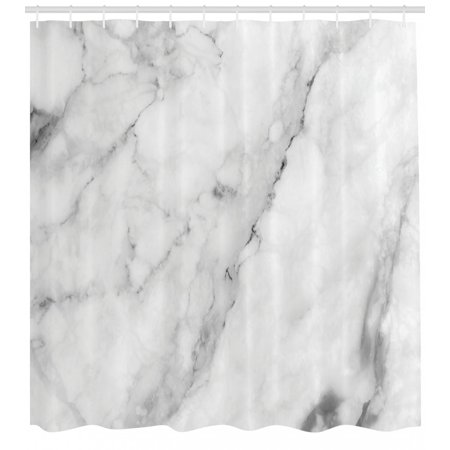 Ambesonne marble shower curtain