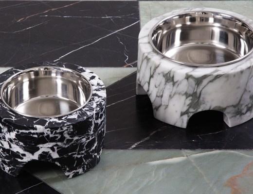 Zuma Large dog bowl by Kelly Wearstler