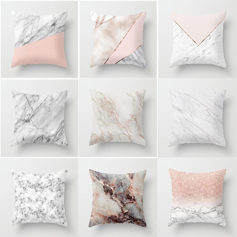 Marble pillows by Loft Decors