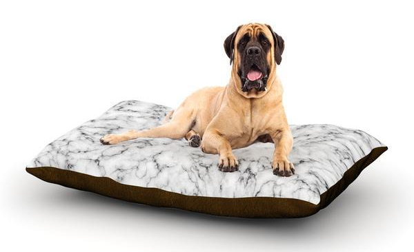 Marble dog bed by Will Wild